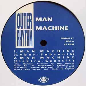 MAN MACHINE FEAT THE FORGEMASTERS / MAN MACHINE