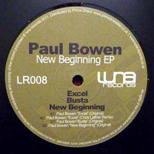 PAUL BOWEN / NEW BEGINNING EP