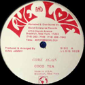 COCO TEA / JAMMY ALL STARS / COME AGAIN / VERSION