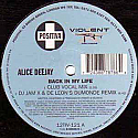ALICE DEEJAY / BACK IN MY LIFE