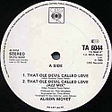 ALISON MOYET / THAT OLE DEVIL CALLED LOVE