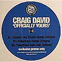 CRAIG DAVID / OFFICALLY YOURS