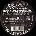 DANCEFLOOR JUSTICE INC / HIP HOP HARDCORE EP