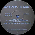 ANTONIO & LEE / LOVE OF A LIFETIME