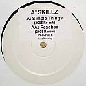 A SKILLZ feat DROOP CAPONE / PEACHES / SIMPLE THINGS 2005 RERUB