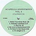 ACAPELLA ANONYMOUS / VOL 8 (CLASSICS)